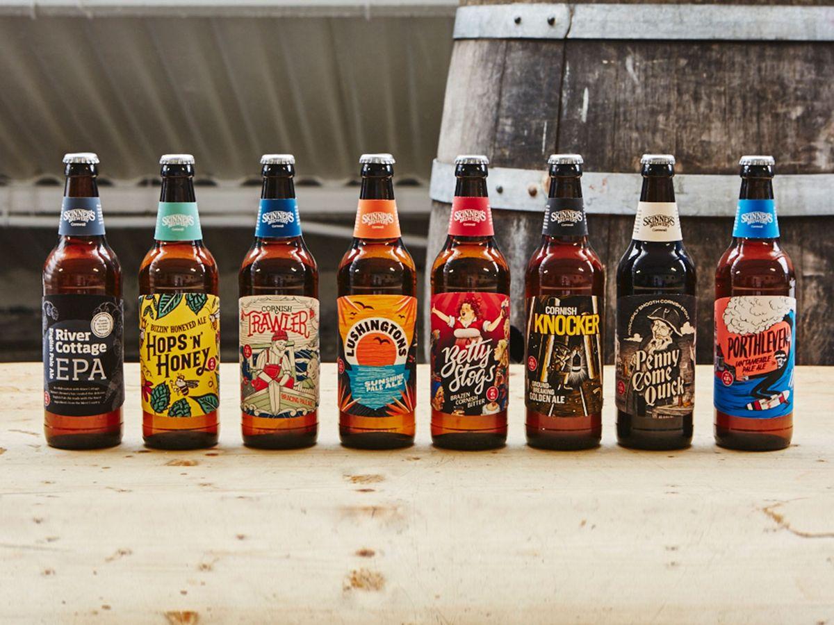 Beatson Clark Supplies Bottles and Crowns for Skinner's