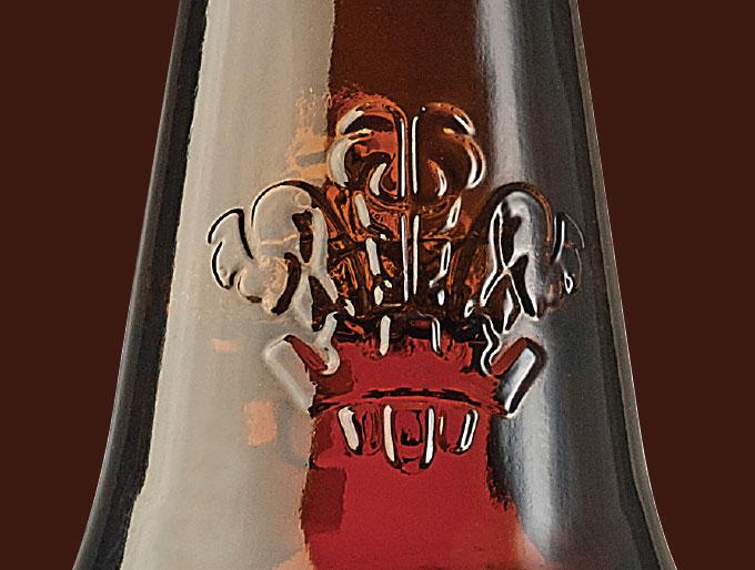 Beer Bottle Embossing