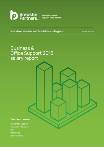 Salary Surveys Business & Office Support 2018 salary report