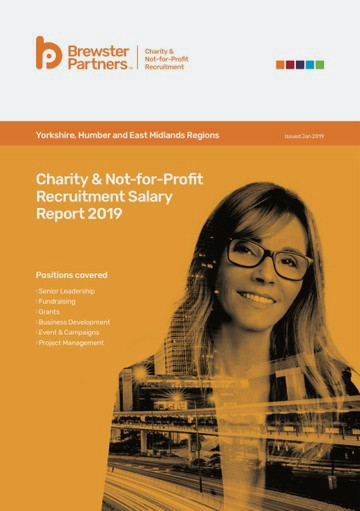 Salary Surveys Charity & Not-for-Profit Recruitment Salary Report 2019