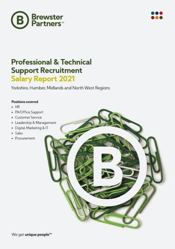 Salary Reports Professional & Technical Support Recruitment Salary Report 2021