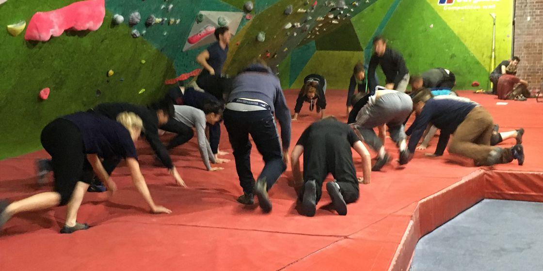 Brewster Pratap & YCAG host a successful climbing event