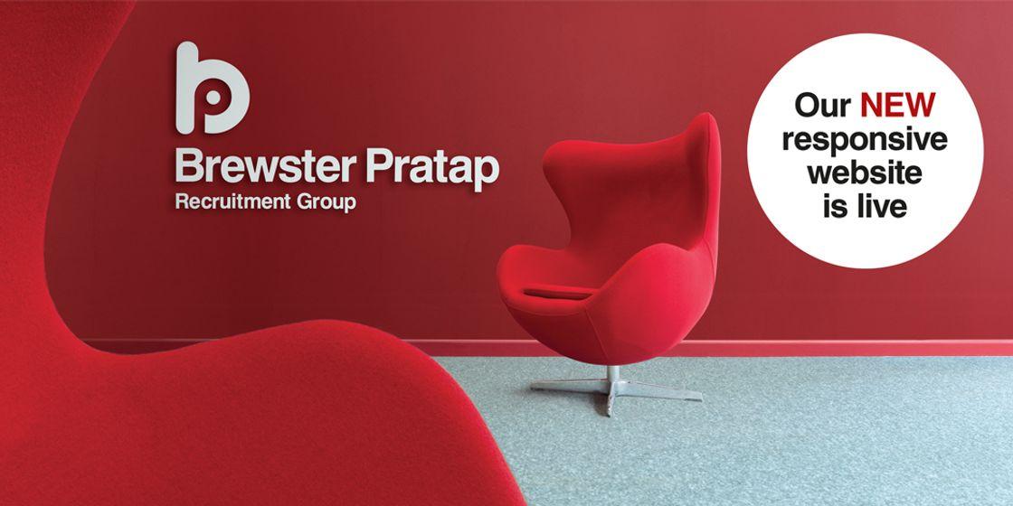 Refresh - Brewster Pratap Recruitment Group unveils new website