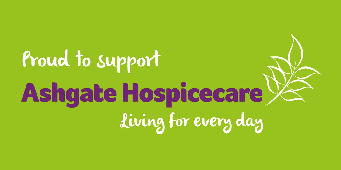 Ashgate Hospicecare announced as official charity partner 2016
