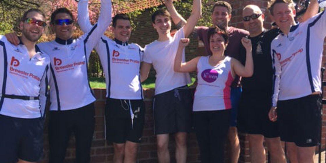 Bawtry Running Men raise over £2,500 for Child Bereavement UK