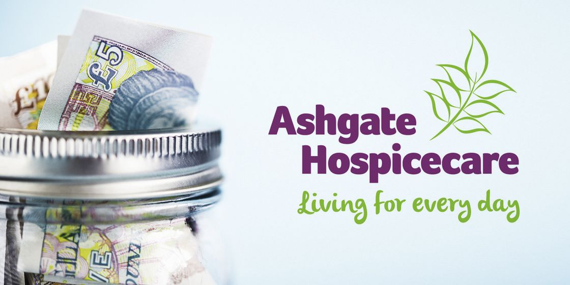 £13,405.80 raised for Ashgate Hospice this year