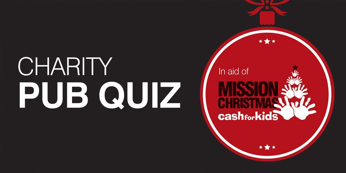 Charity Pub Quiz – 23rd November 2017