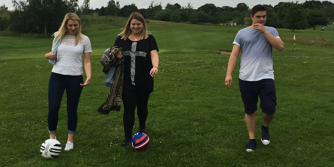 Brewster Pratap's first FootGolf event proves to be a great success