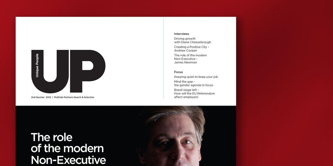 McBride Partners launch UP Magazine