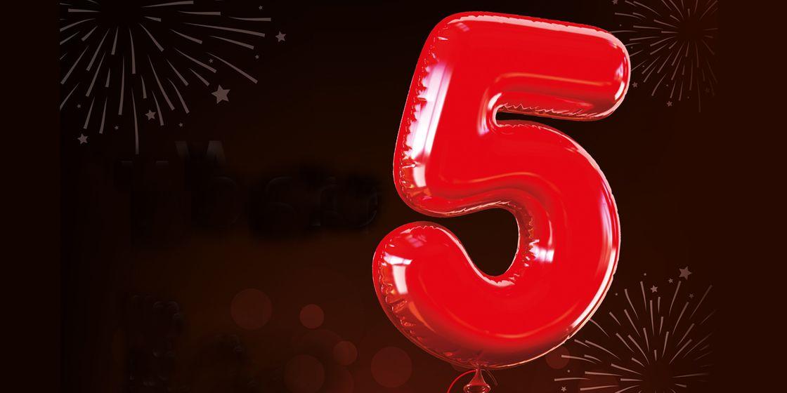 Happy 5th Birthday Brewster Pratap!