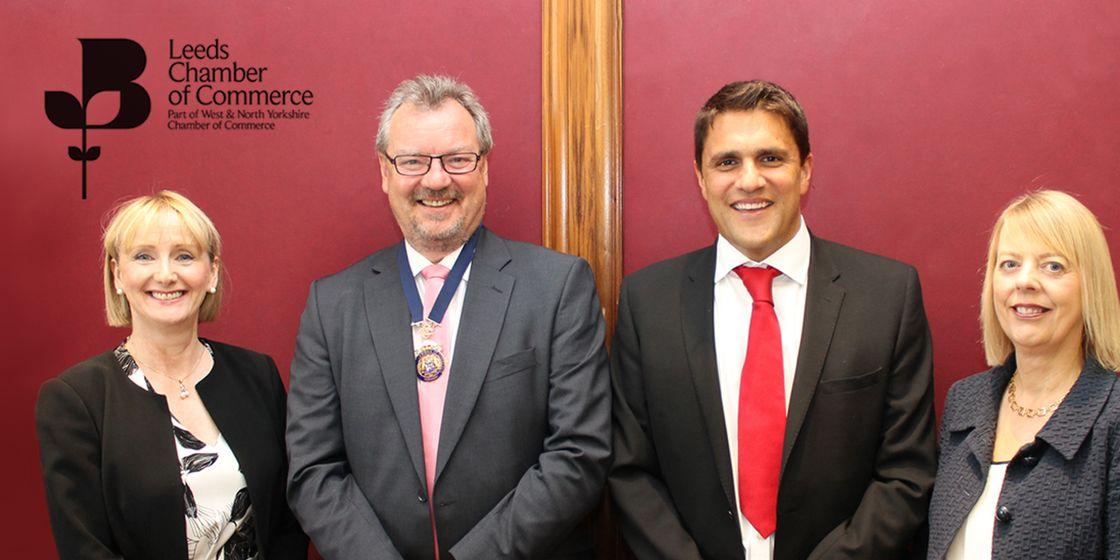 Nik Pratap joins the Leeds Chamber of Commerce Leadership Group