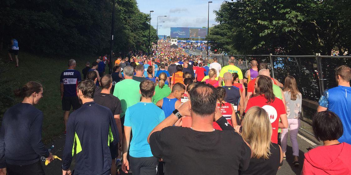 Great North Run… Done