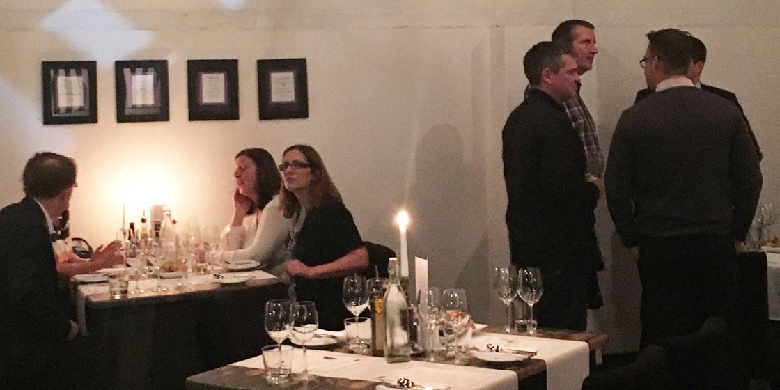 Senior Finance Wine Tasting Event