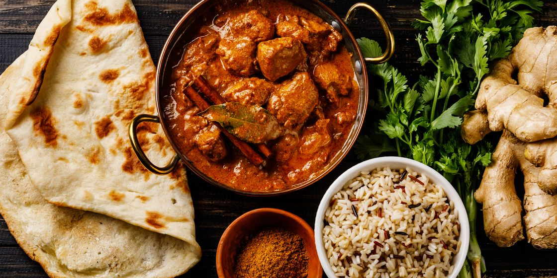 Doncaster Senior Finance team hold curry night