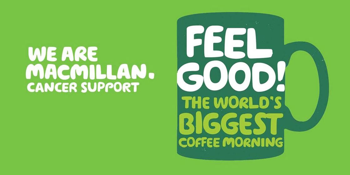 Brewster Pratap support the World's Biggest Coffee Morning for Macmillan Cancer Support