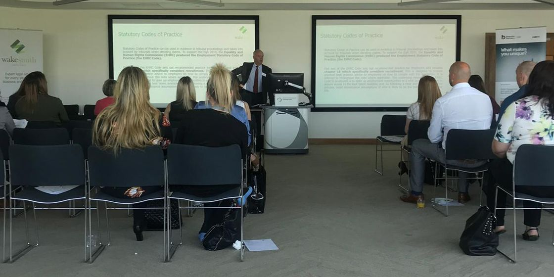 Sheffield host HR Forum in partnership with Wake Smith Solicitors