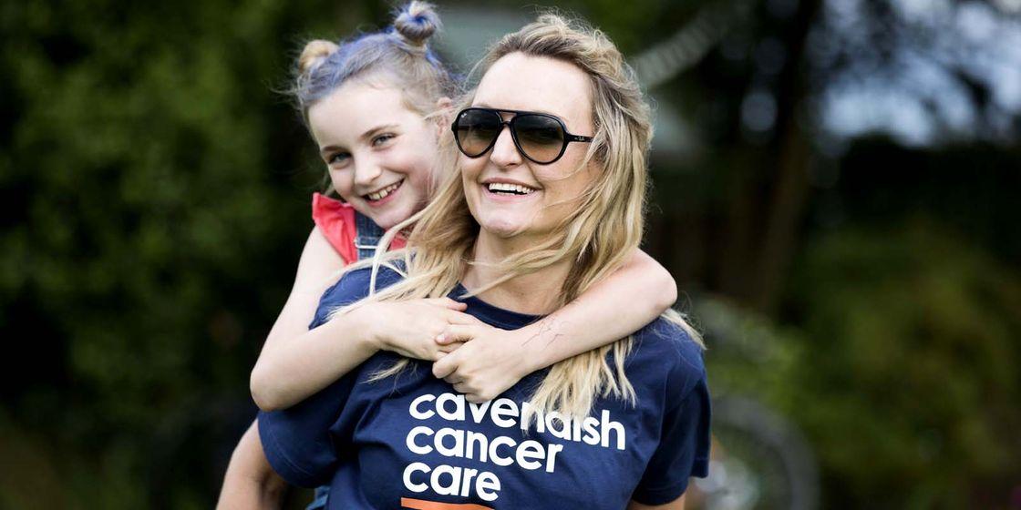 Shaun Taylor - Cavendish Cancer Care Summer Stomp volunteer day