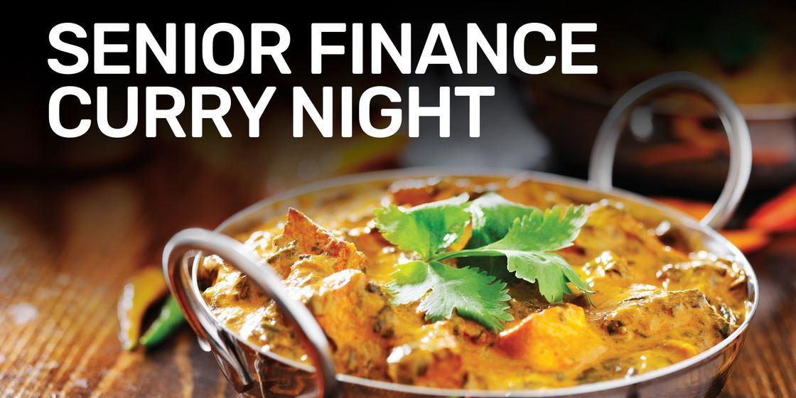 Senior Finance Curry Night November 2019
