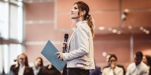 How to step up your presentation game