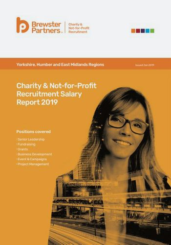 Salary Reports Charity & Not-for-Profit Recruitment Salary Report 2019