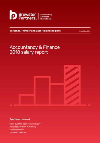 Salary Reports Accountancy & Finance 2018 salary report