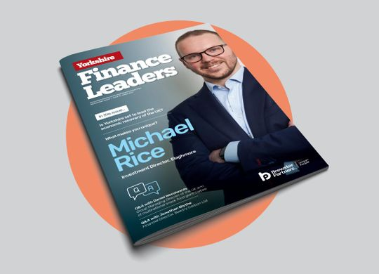 Yorkshire Finance Leaders Magazine